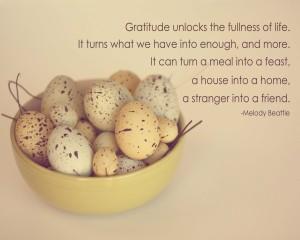 Gratitude Expands