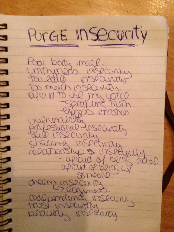 Purge Insecurity