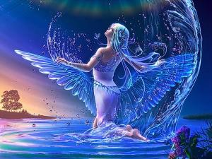 Water Magic Angel - Fairies 2
