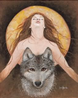 wolf woman